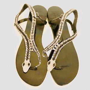 🇮🇹Giuseppe Zanotti embellished sandals. 50% off!